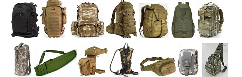 Tactical bags