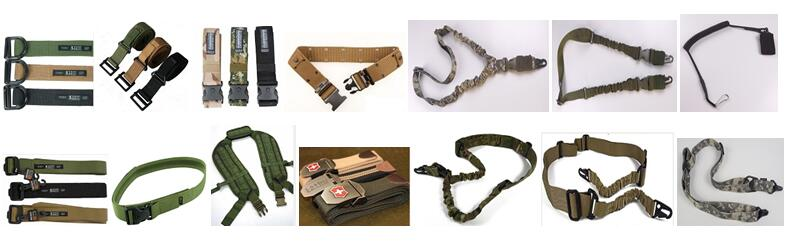 Tactical belts and slings