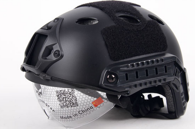 Tactical Helmet FAST PJ Goggle Version