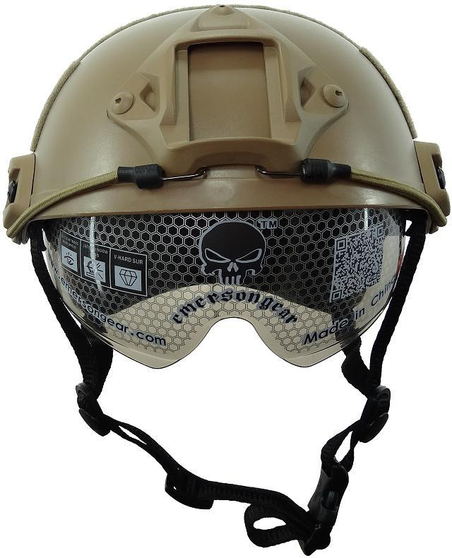 Tactical Helmet FAST MH Goggle Version