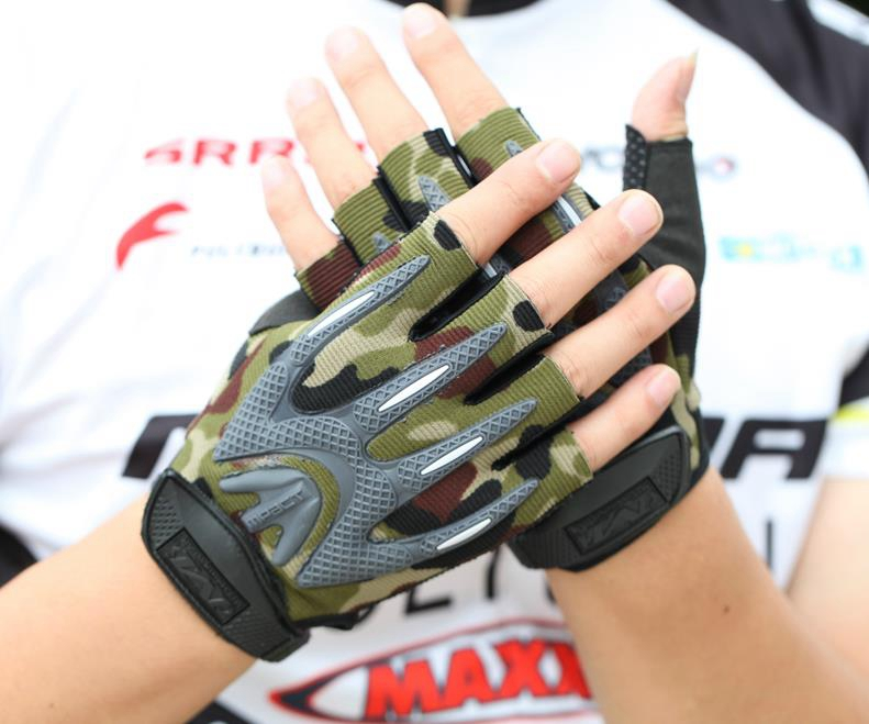 M-Pact Half Finger Gloves