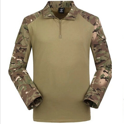 Combat Camouflage frog long sleeves Shirt