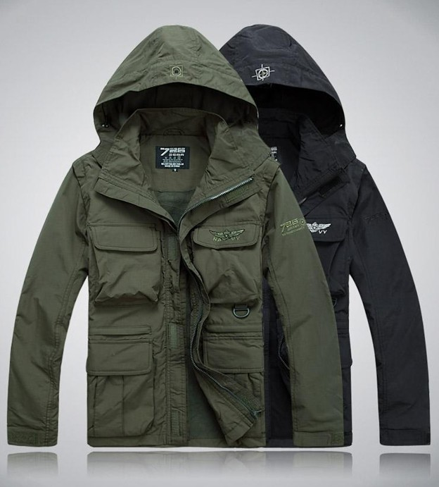 Tactical outdoor thin jacket