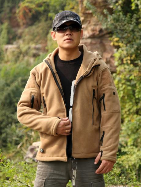 Tactical outdoor fleece TAD winter jacket