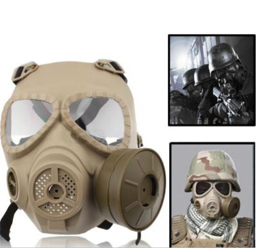 Tactica plastic full face mask 004