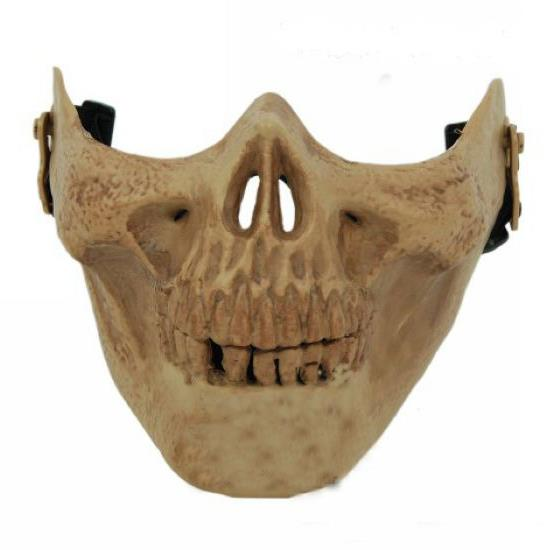 Monster plastic half face Mask 010