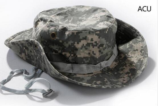 Tactical camo color bonnie caps