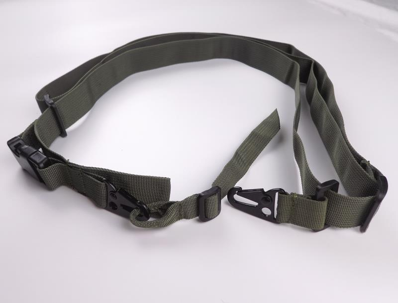 Tactical nylon three points gun sling