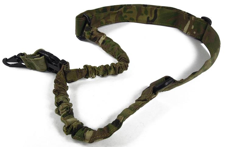 Tactical nylon one point gun sling