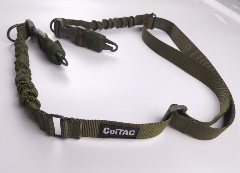 Tactical new style double points gun sling 010