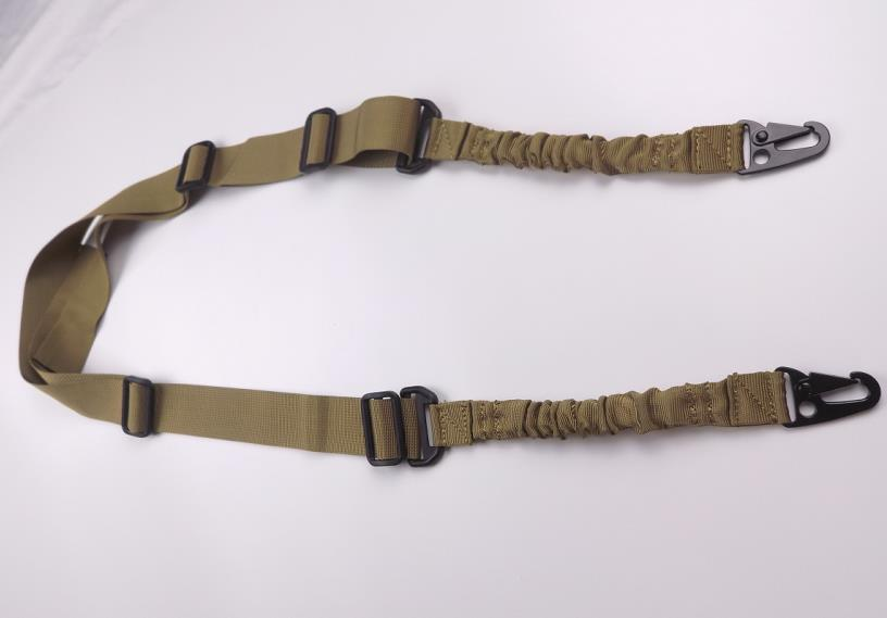Tactical nylon two points gun sling