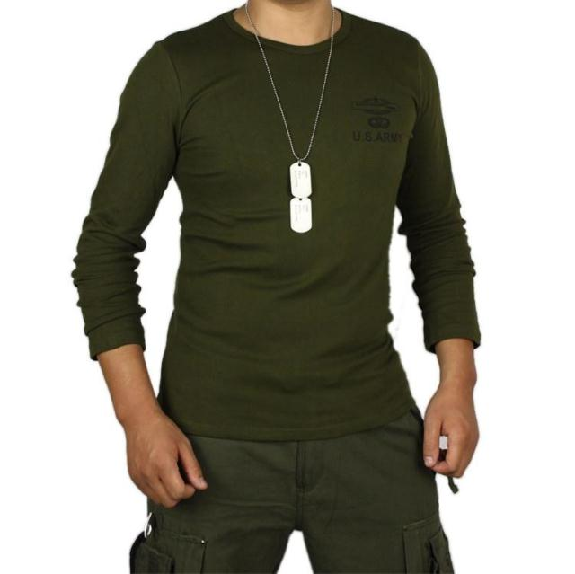 Cotton outdoor T shirt US army