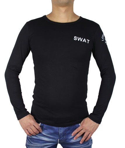 Tactical cotton T shirt SWAT
