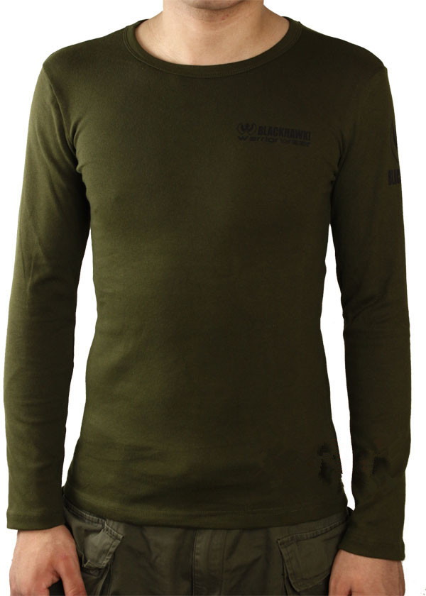 Tactical cotton T shirt BLACKHAWK