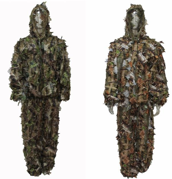 Mesh Ghillie suit,3D Ghillie suit,camo Ghillie suit 001