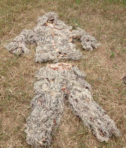 Tactical outdoor ghillie suit 003