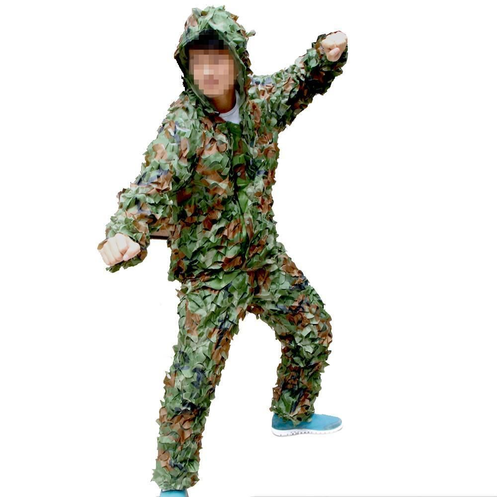 Tactical outdoor ghillie suit 004