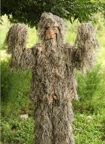 Tactical outdoor ghillie suit 005